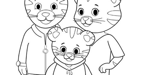 tiger family coloring page has the tiger family become a part of your family you can