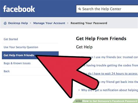 fb help 4 ways to get someone s facebook password wikihow