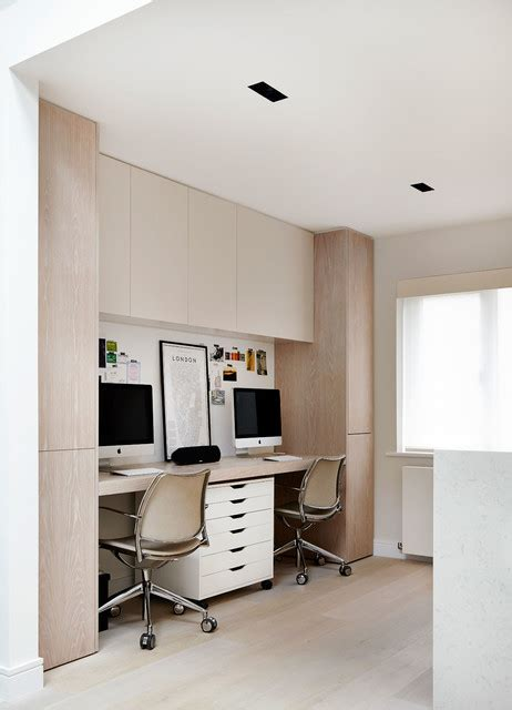 materials library and studio contemporary home office private townhouse contemporary home office library