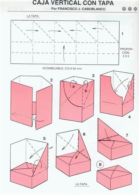 Origami Box Diagram - origami box