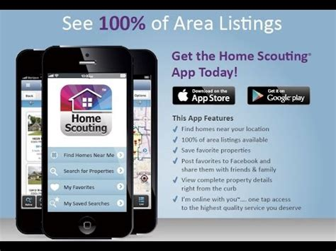 the free home scouting mobile app search