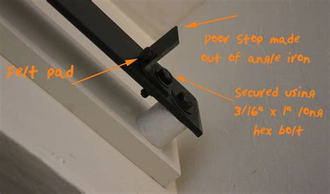 How To Make A Sliding Barn Door Free Plans Diy Barn Door Stops