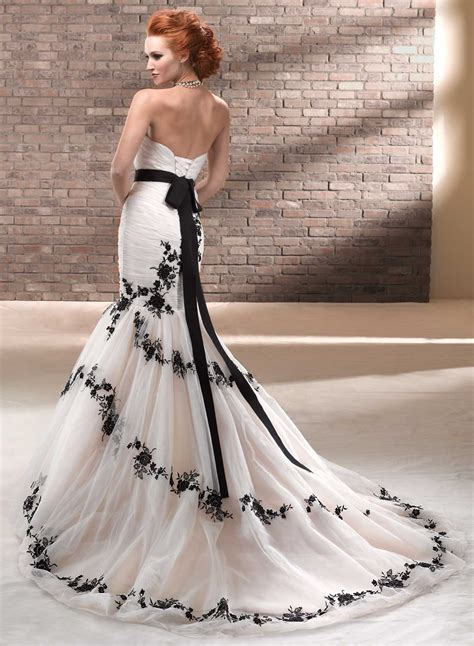 unique wedding dresses black dresscab