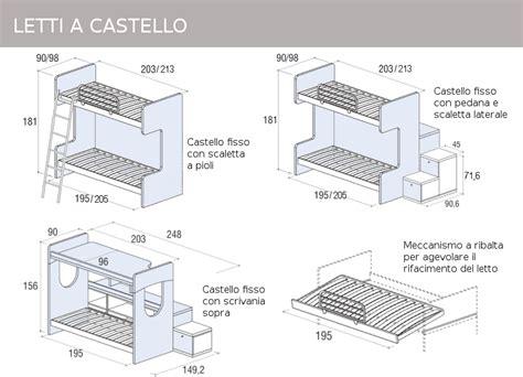 letti a castelli mobili doimo cityline misure e componibilit 224