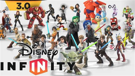 disney infinity for characters every disney infinity 3 0 character trailer figure