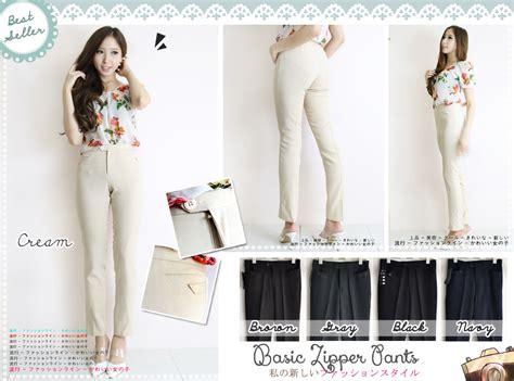 Celana Dasar Wanita Untuk Kerja celana bahan wanita ukuran s bahan berkualitas celana wanita celana kerja celana bahan