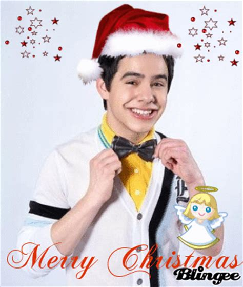 david archuleta merry christmas picture  blingeecom