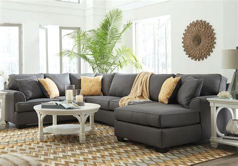 laf sofa sectional brioni nuvella gray 3pc laf sofa sectional