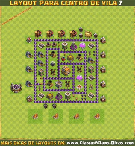 layout de cv 7 layouts de cv7 para clash of clans clash of clans dicas