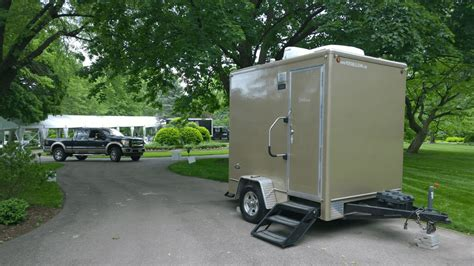 Trailer Bathroom Rental by Porta Luxury Restroom Trailer Rental Toilet Trailer