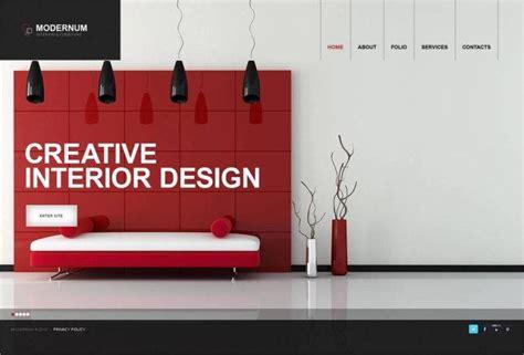 interior design website templates  premium