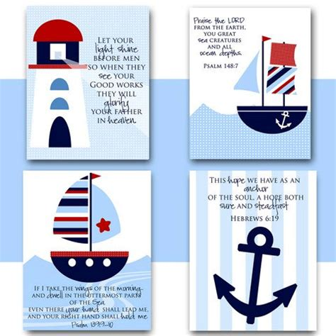 nautical themes nursery wall art nautical theme boat lighthouse anchor with
