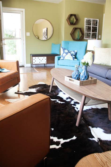 cowboy living room modern cowboy living room bright green door