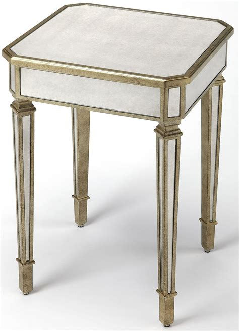silver end table celeste silver end table from butler coleman furniture