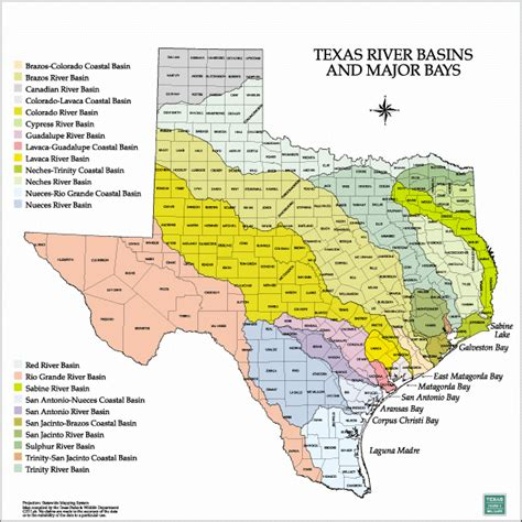 lands of texas map tpwd gis lab map downloads