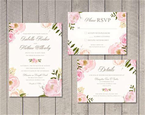 desain undangan motif bunga tren undangan motif bunga unique card wedding invitation