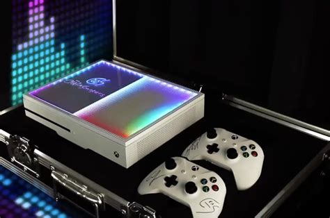xbox modded console take a look at this sick xbox one s console mod reply