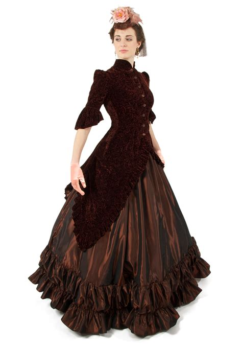 a simple s victorian dress from new look pattern a6319 the pragmatic costumer ball gowns from recollections page 1 of 2
