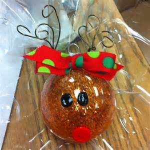 oh christmas tree crafts reindeer ornament