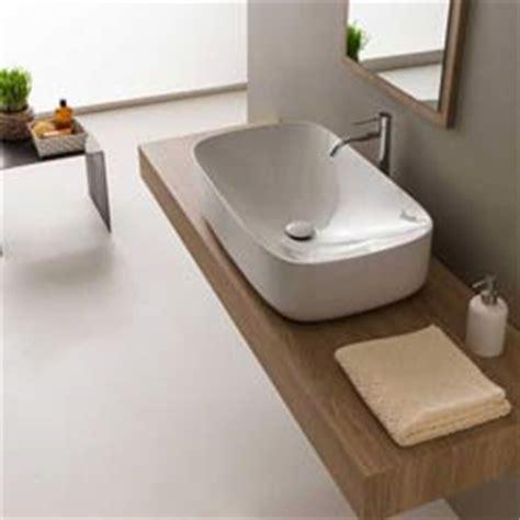lavelli bagno da appoggio lavabi appoggio in ceramica per il bagno