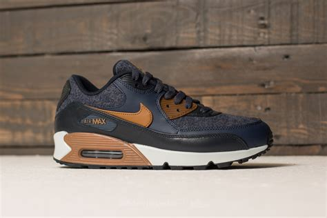 Nike Airmax9 0 Premium nike air max 90 premium thunder blue ale brown footshop