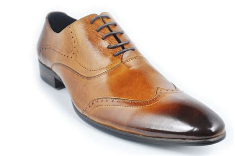 fashion oxford leather lace up mens formal dress shoes ebay