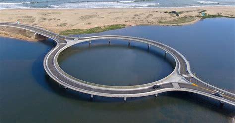 circular bridge built  slow  drivers