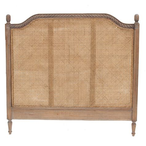 french provincial headboard new french provincial marseille rattan headboard ebay