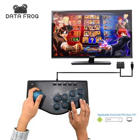android compatible data frog arcade joysticks for pc compatible for android ps3 console