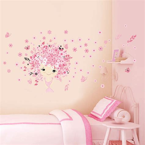 wall decals rooms room decor princess butterly decals vinyl mural wall sticker ebay