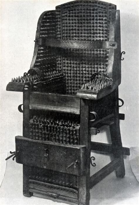 The Judas Chair by Image Judas Chair Device