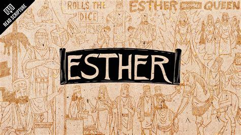ester biblia read scripture esther