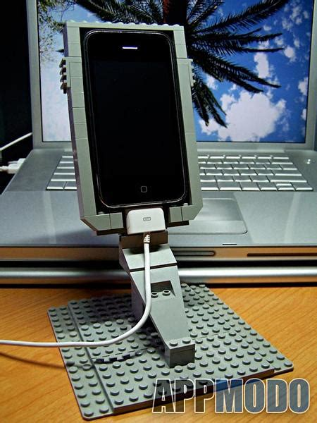 lego iphone case  stand  johnnyt gadgetsin