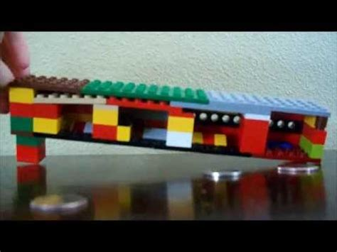 lego bank tutorial lego coin sorter tutorial youtube