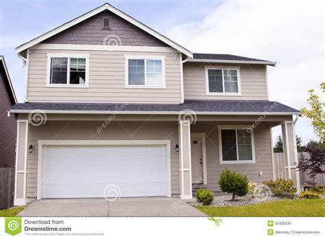 suburban house suburban house stock image image 25426241