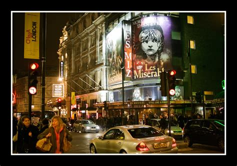 london s theatre district is located in which section of london london theatre district a photo from london england