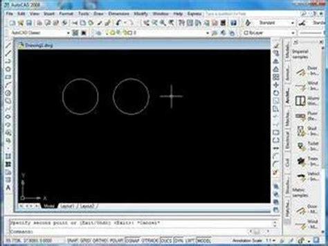 autocad tutorial trim command autocad tutorial copy trim command youtube
