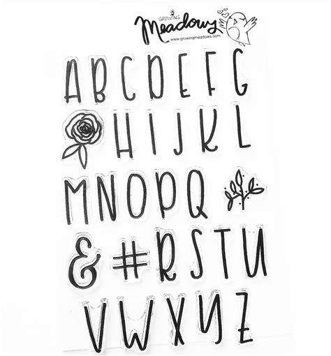 Letter Fonts s big alpha font alphabet st set faith