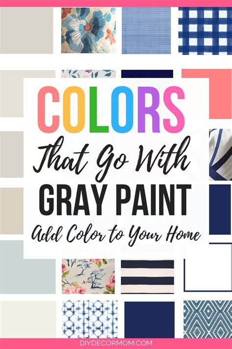 paint colors that go with gray colors that go with gray color splash hop diy