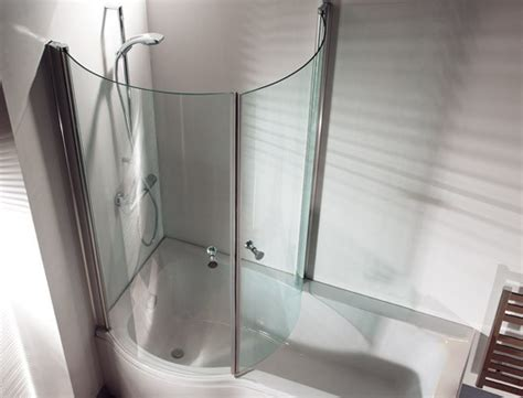 curved shower bath return screen for p shaped shower bath curved bathshop321