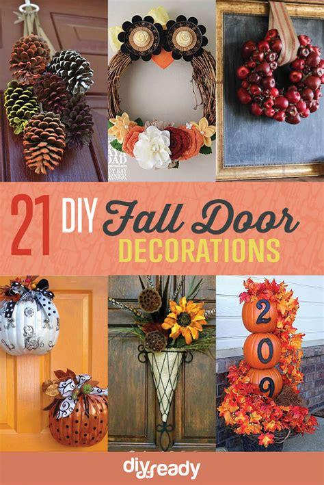 diy fall door decorations 21 diy fall door decorations diy ready