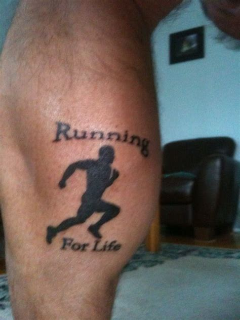 new tattoo jogging 47 best images about running tattoos from irunnation on