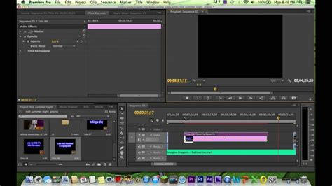 Adobe Premiere Cs6 How To | adobe premiere pro cs6 how to do a fade in fade out title