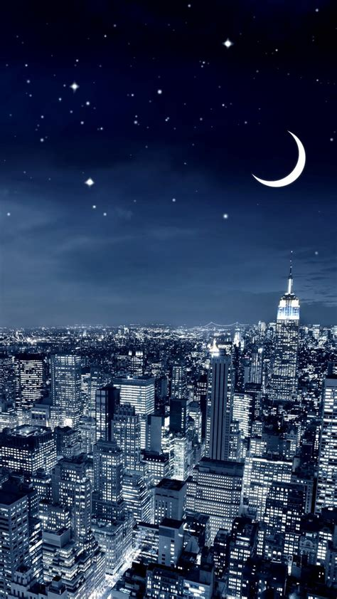 wallpaper for iphone 5 city new york city crescent moon wallpaper free iphone wallpapers