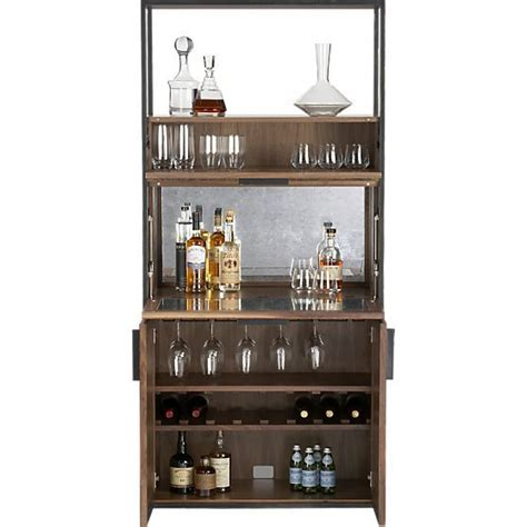 Crate Barrel Bar Cabinet by Clive Bar Cabinet