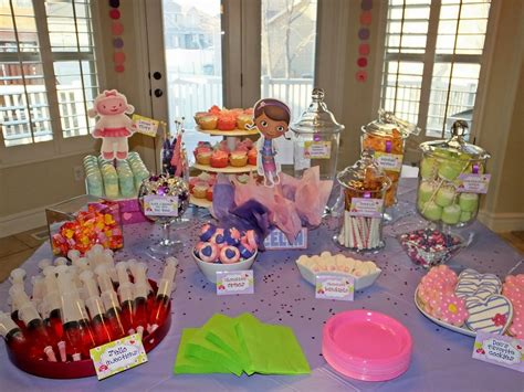 Nurse Party Decorations Padicakes Doc Mcstuffins Birthday Party