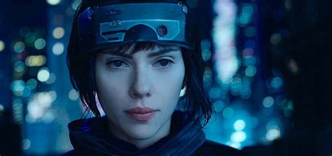 film ghost shell scarlett johansson ghost in the shell interview clip