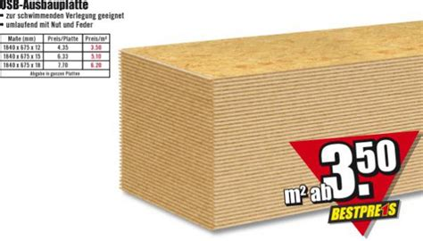 Osb Platten Preise by Osb Ausbauplatte B1 Discount Ansehen
