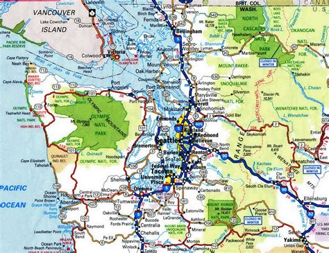 mt rainier national park map mt rainier national park map my