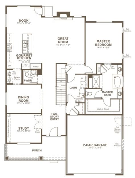 floor plan for new homes richmond american homes floor plans new home